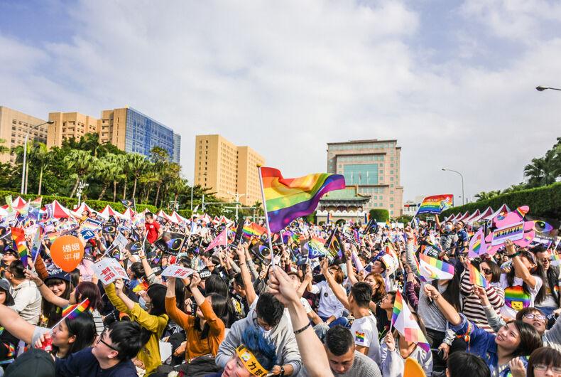 Taiwan marriage equality