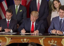 Trump signs trade deal that includes protections for LGBTQ people