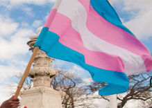 How a small community in Texas came together to help local trans women