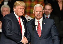 President Trump may be thinking of dumping Mike Pence from the 2020 ticket