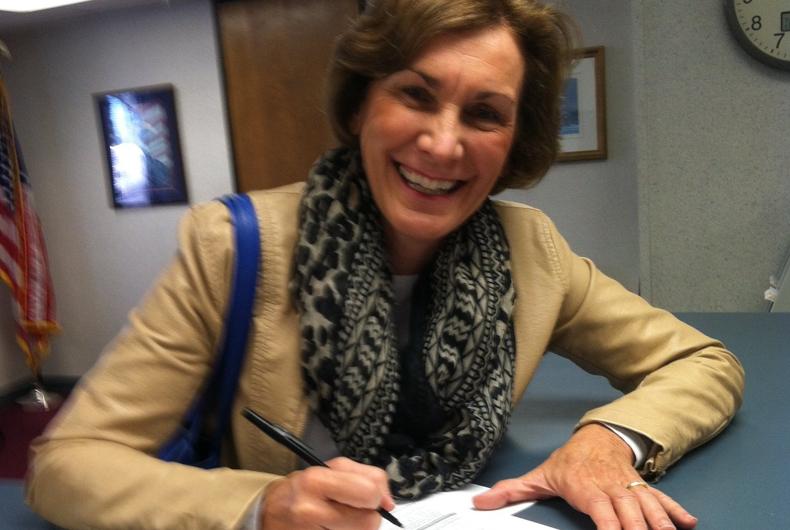 Kansas state senator Barbara Bollier