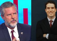 "Jerry Falwell Jr. accused of ""relentlessly"" harassing the poolboy since sex scandal broke"