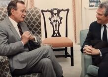Pat Robertson claims Bush launched the Gulf War because he told him God blessed it