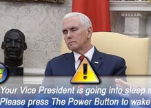 Pelosi may have embarrassed Trump, but Pence is the one everyone's laughing about