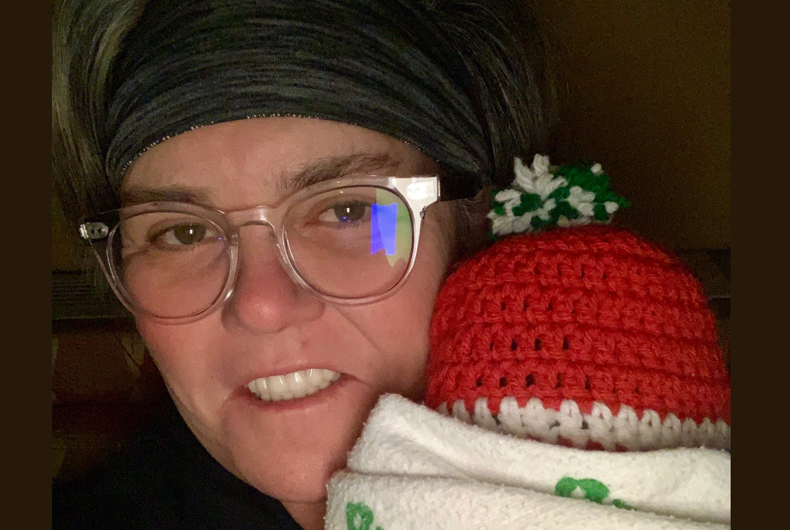Rosie O'Donnell is welcoming her first grandbaby, Skylar Rose, into the family.