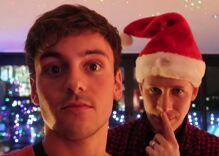 'Tis the season for Dustin Lance Black & Tom Daley