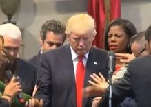 Several churches are worshipping the gospel of Trump just as much as Christianity