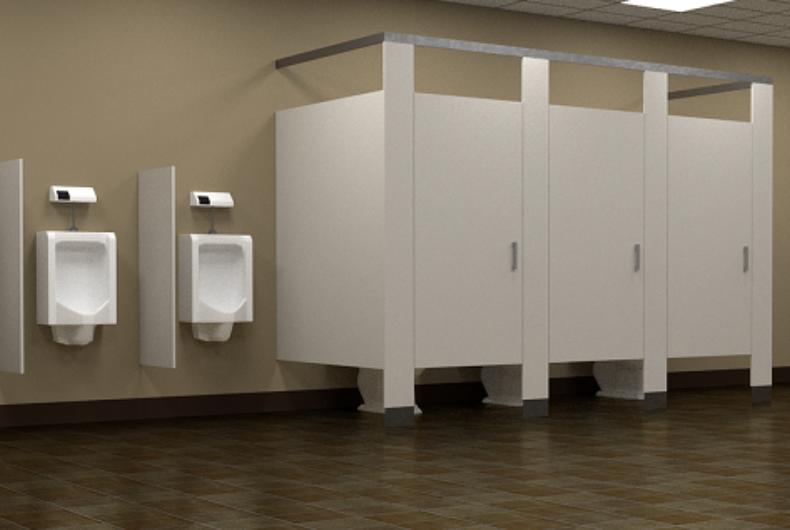 Bathroom stalls and urinals