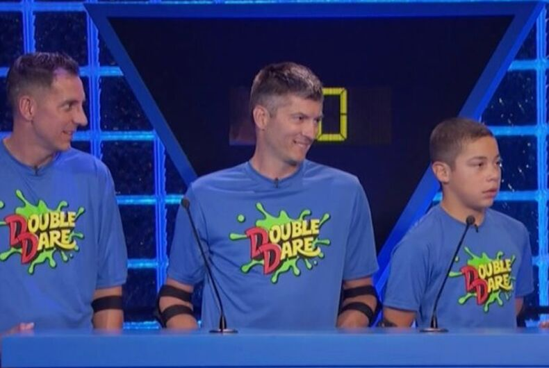 Double Dare, same-sex couple, double dads