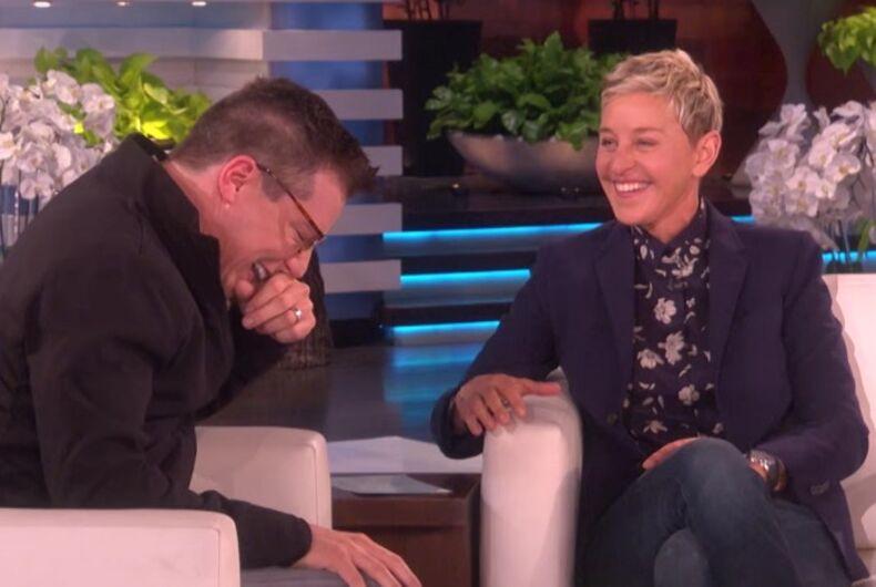 Ellen and Sean Hayes