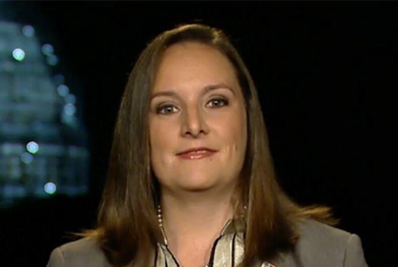 Jerri Ann Henry, Log Cabin Republicans