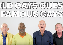 Try not to laugh watching these elderly gay men try to identify modern queer celebrities