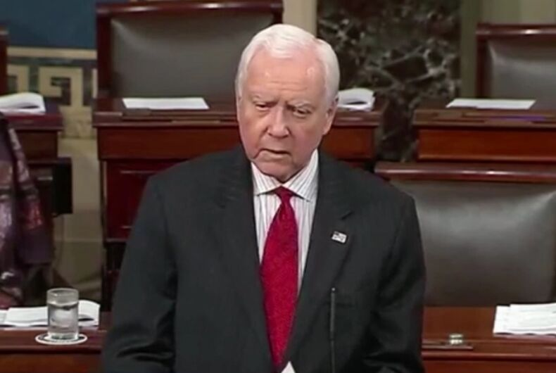 Orrin Hatch in the Senate