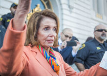 Nancy Pelosi is throwing shade at Paul Ryan as he walks out the door