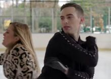 Watch Adam Rippon teach Samantha Bee how to skate. Sorta.