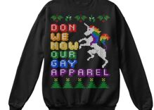 Here are 5 super queer sweaters you can wear home for the holidays