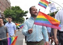 Out Democrat Corey Johnson drops out of NYC mayoral race after police funding controversy