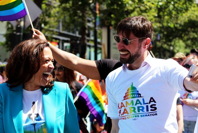 By picking Kamala Harris, Biden chose a major LGBTQ ally & a formidable warrior against the GOP