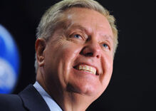Head of Democratic Super PAC says Lindsey Graham is being blackmailed with a 'serious sexual kink'