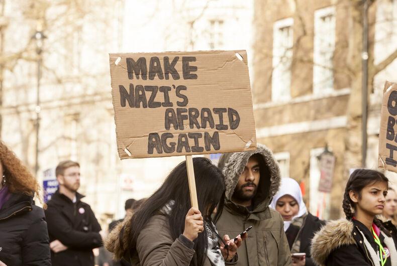 London, United Kingdom - February 4, 2017: Stop Trump March