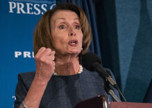Trump got impeached & everyone is talking about Nancy Pelosi