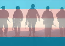 A federal court just ruled in favor of Trump's transgender military ban