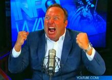 Alex Jones is back on Facebook, accusing LGBTQ people of being pedophiles (and FB is doing nothing)