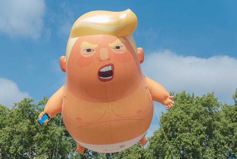A balloon of