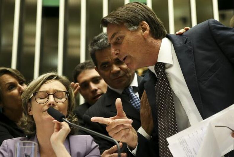 Brazilian PresidentJair Bolsonaro