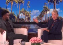 Ellen DeGeneres spotted sipping wine & hanging out with Kevin Hart