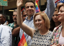 An LGBTQ community champion has announced she'll run for President