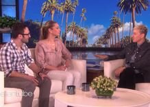 She wasn't supportive of her gay son. But a little help from Ellen left her in tears.