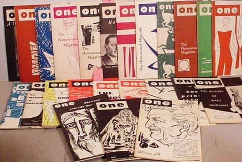 ONE magazine, gay, censorship, Supreme Court