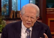 Pat Robertson told a mom that her son looks at gay porn because he's being molested