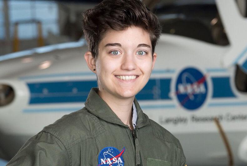 V Wegman at NASA's Langley Research Center