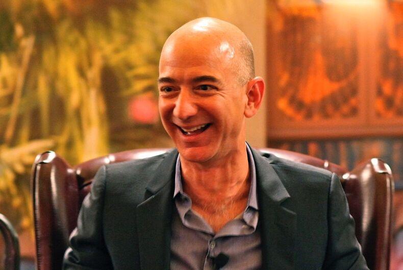 Jeff Bezos at the 2010 ENCORE Awards