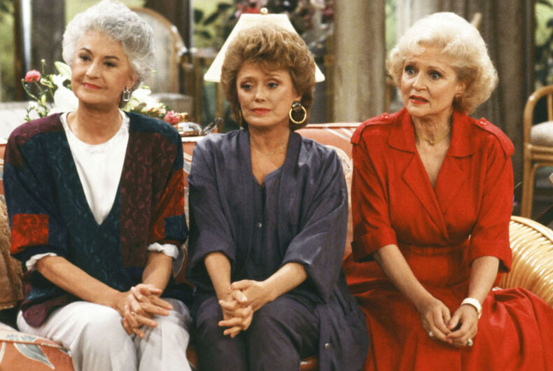 Bea Arthur, Rue McClanahan and Betty White in