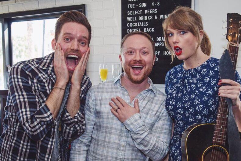 Alex Goldschmidt, Ross Girard, and Taylor Swift