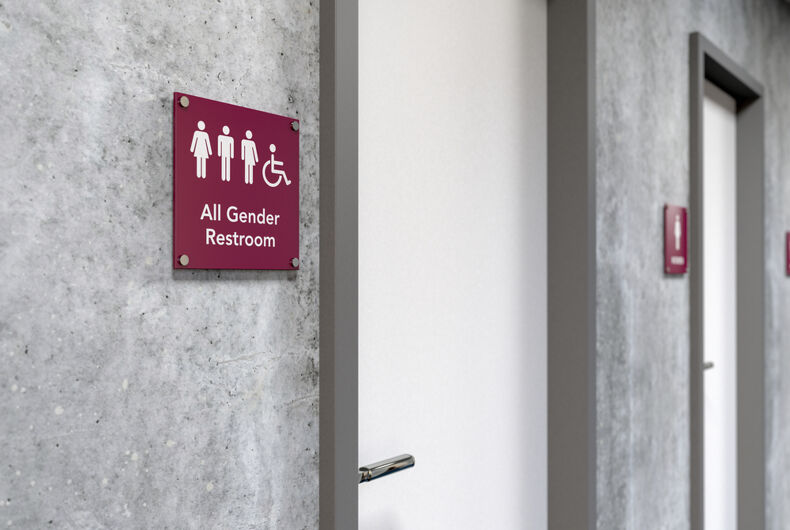 The International Building Code is changing to recommend gender neutral bathrooms