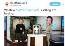 Did Ellen forgive Chris Pratt for attending an anti-LGBTQ church?