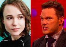 Chris Pratt fires back at Ellen Page & says his church isn't anti-LGBTQ