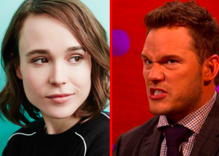 Chris Pratt fires back at Ellen Page & says his church isn't anti-LGBTQ