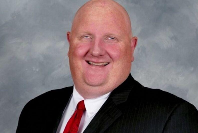 Eric Porterfield, Republican, West Virginia, KKK