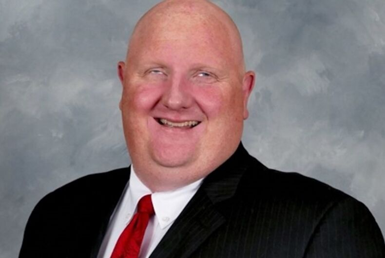 Eric Porterfield, Republican, West Virginia, KKK