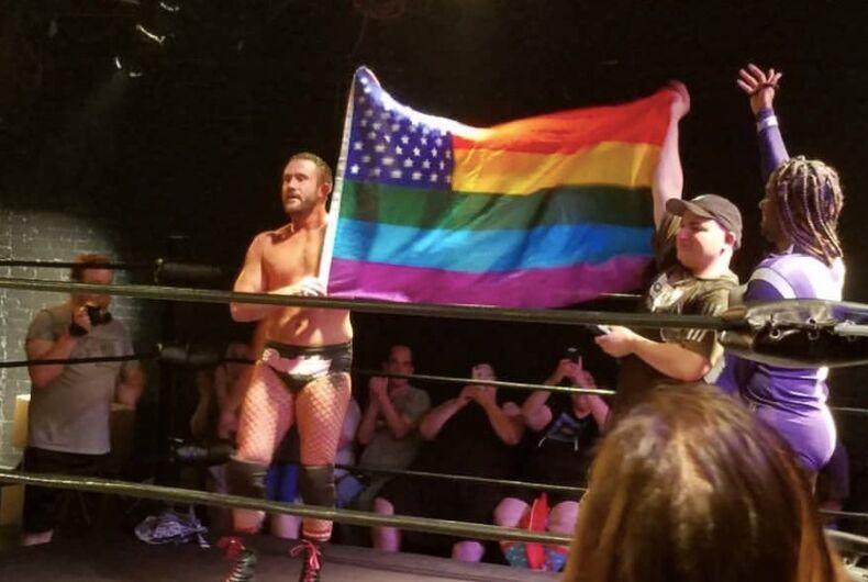 gay wrestling, A Matter of Pride, Rick Cataldo