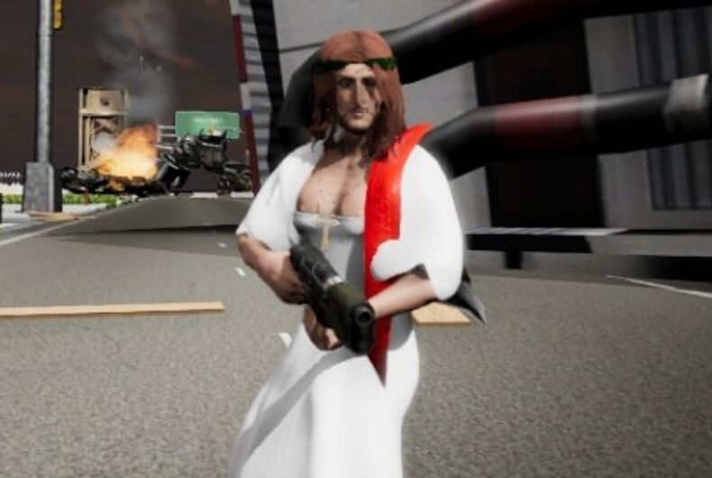 Jesus Strikes Back: Judgement Day video game screenshot