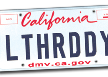 Gay man's 'LTHR DDY' license plate rejected as 'depravity'
