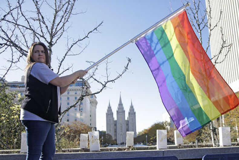 The Mormon church won't oppose Utah's conversion therapy ban