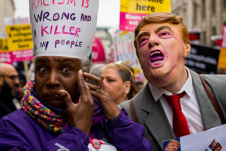 Trump, black trans Trump supporter, fake Twitter, hoax