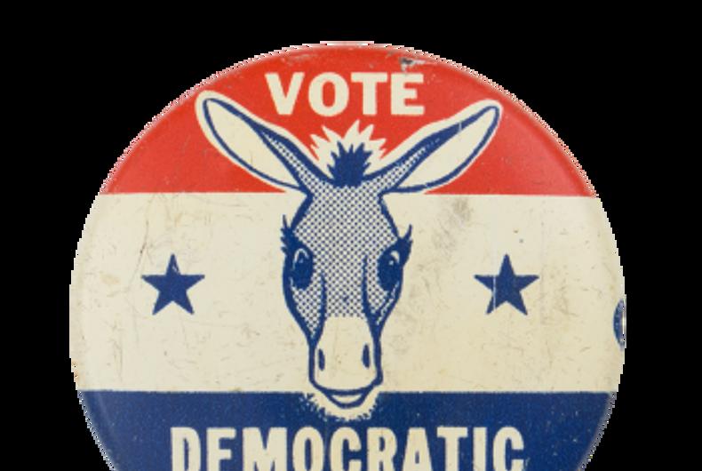 A Vote Dem pin